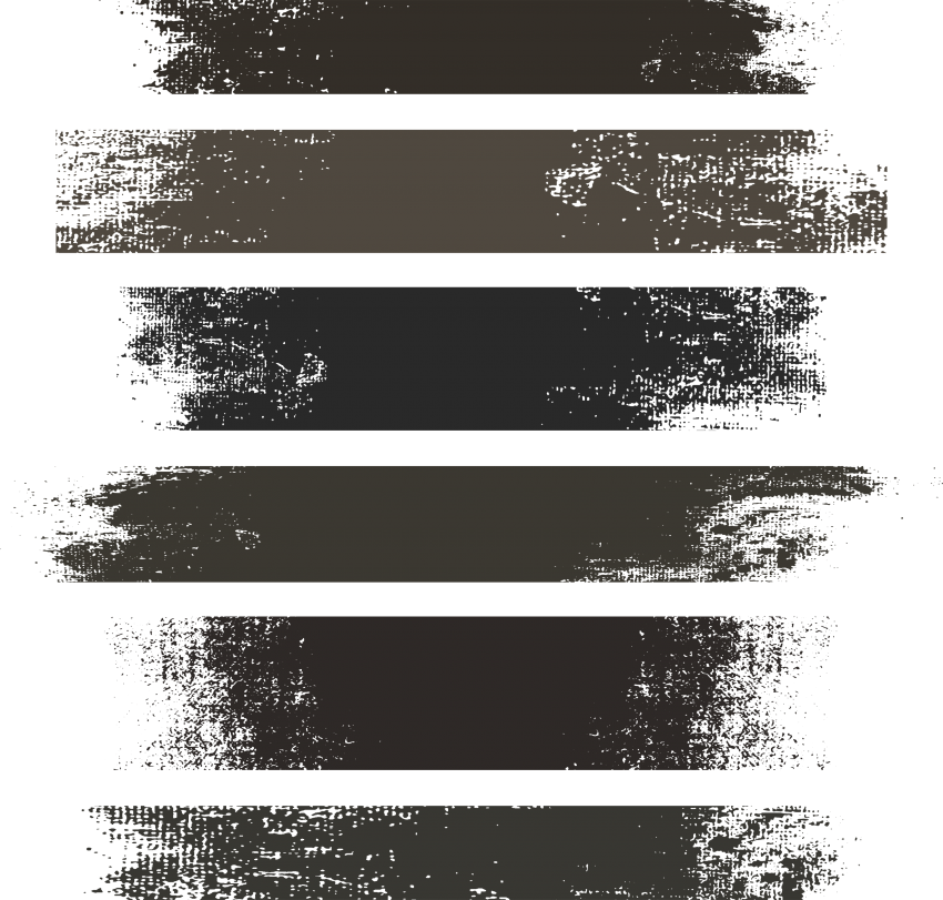 Distressed Stroke Texture Brushes Vector Free Png