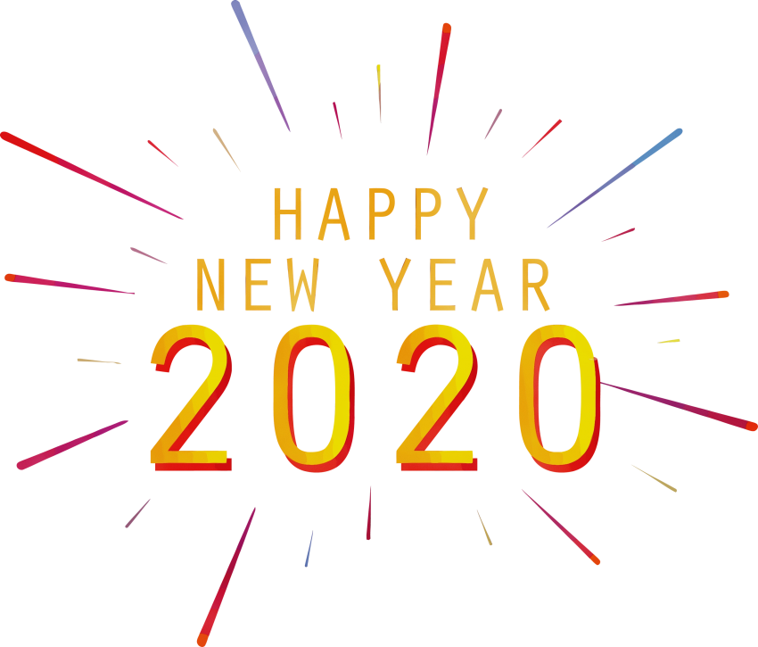Download Creative Happy New year PNG 2020 - PNG #845 ...
