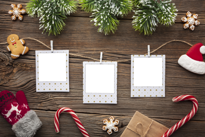 Family Photos Christmas Photo Frame PNG - PNG #1905 - Free ...