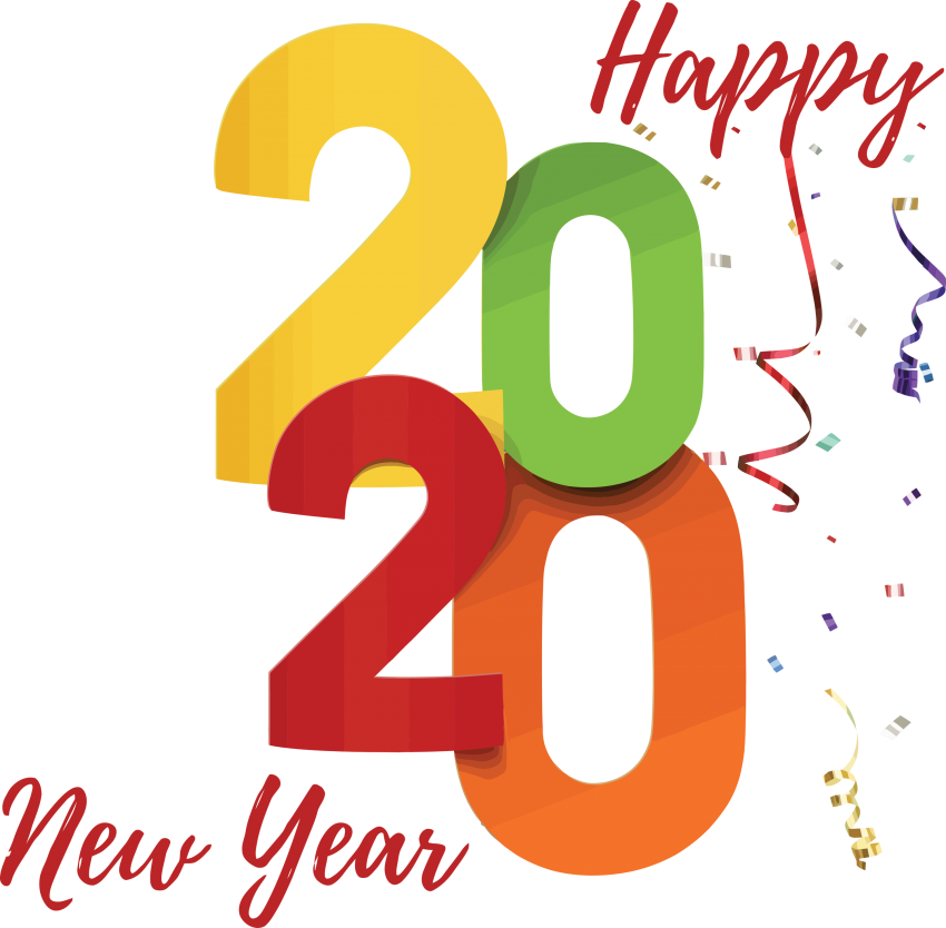 Happy 2020 New Year PNG - PNG #836 - Free PNG Images   Starpng