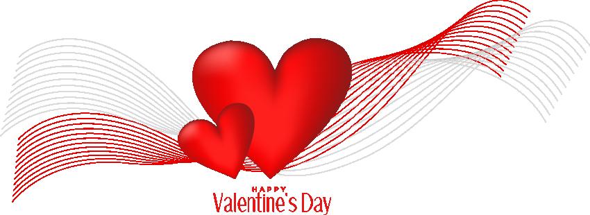 Valentine's Day Heart Clip art - Happy Valentines Day Text ...